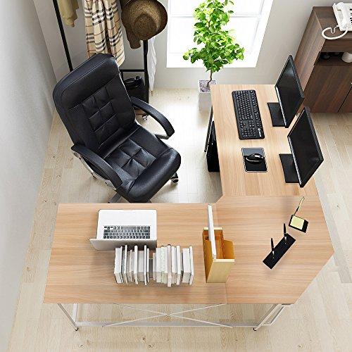 Dland L-Shaped Computer Desk 59