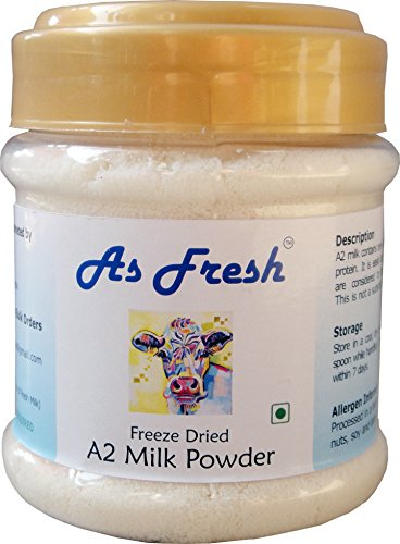 A2 Cow Milk Powder 3.5 Oz (Freeze Dried, No Preservatives, Unsweetened) -  DNS Global Foods