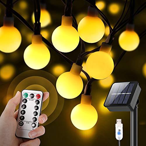 Outdoor Solar String Ball Lights