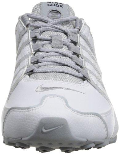 Uomo Shox EU Scarpe Navy Wolf sportive NZ midnight Grey NIKE White qXawxTq