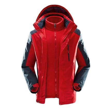 Amazon.com   DAFREW Warm Winter Ski Wear 3 in 1 0ea6a6238