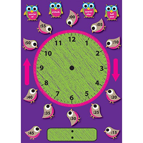 Ashley Clock (Ashley Productions Time Clock Magnetic Mini Bulletin Board Set, 12