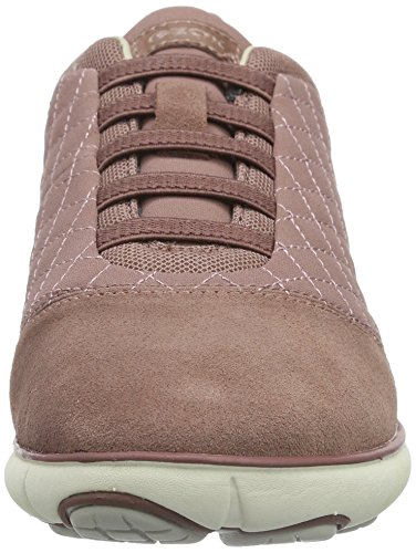 Geox Womens Wnebula7 Fashion Sneaker Old Rose