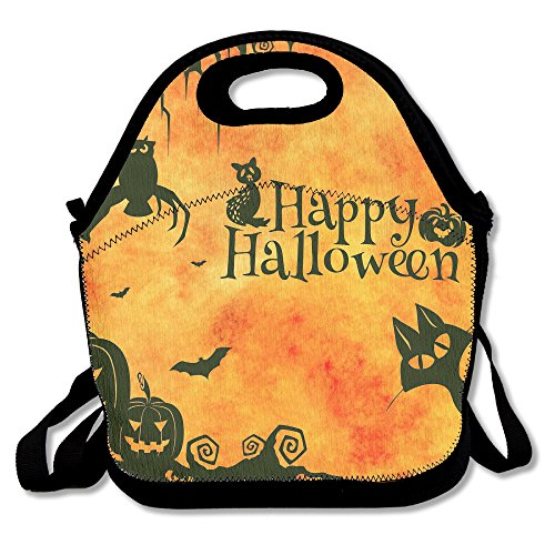 Happy Halloween Sketch Lunch Bag Cool