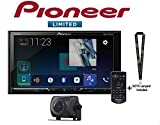 Pioneer AVH-2440NEX 7' DVD Receiver Apple CarPlay + ND-BC8 Backup Cam and a SOTS Lanyard
