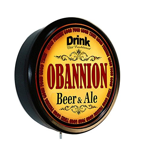 OBANNION Beer and Ale Cerveza Lighted Wall - Obannion