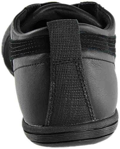 PUMA Womens Eskiva Low Top Slip On Leather Running Sneaker