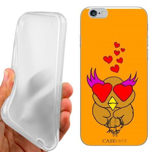 CUSTODIA COVER CASE CASEONE LOVE OWL PER IPHONE 6S