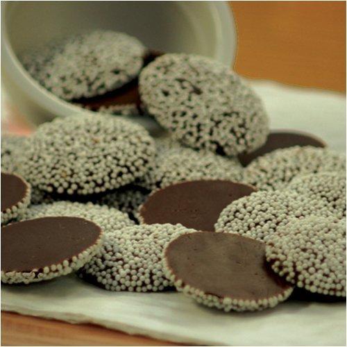 Dark Chocolate Nonpareils 1 Lb.