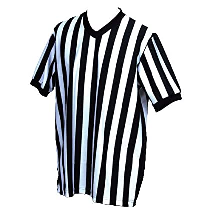 0113560eff Amazon.com  SSG BSN V-Neck Referee Shirt  Sports   Outdoors