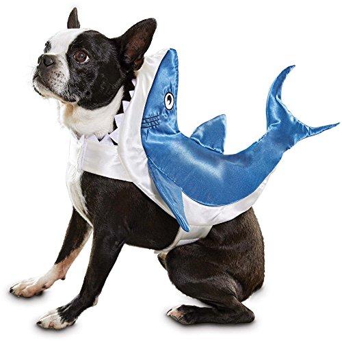 Bootique Shark Pet Costume, X-Large, Blue