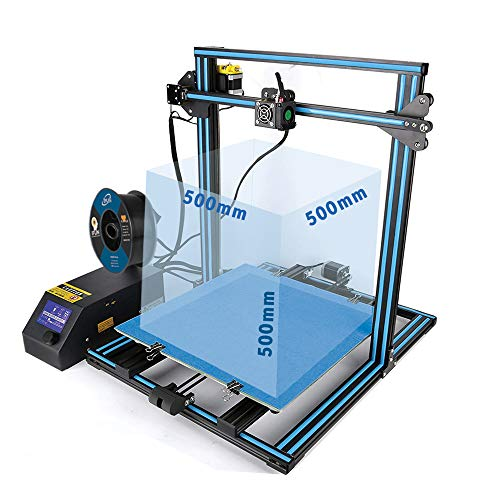 Creality 3D Printer CR-10S S5 CR-10 Plus Large Print Size 500x500x500mm FDM 3D Printer Dual Z-axis Resume Printing Filament Monitor Alarm