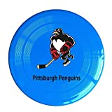 YQUE56 Unisex Pittsburgh Ice Hockey Team Logo Outdoor Game Frisbee Sport Disc RoyalBlue