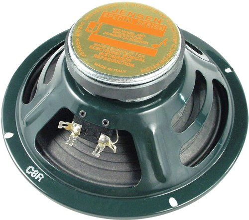 Jensen Speaker, Green, 8-Inch (C8R4) (Best Ibanez Guitar For Metal)