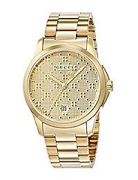 Gucci Men's G-Timeless 27mm Bracelet - YA126461 Gold