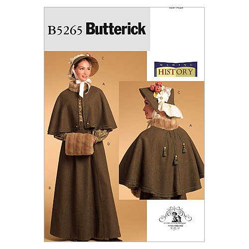 Steampunk Sewing Patterns- Dresses, Coats, Plus Sizes, Men's Patterns Costume Size AA (6-8-10-12) $6.32 AT vintagedancer.com