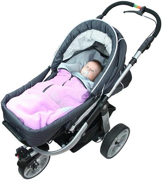 para el asiento del beb/é; Universal para coches de cochecito o silla de paseo Saquito l 2 en 1 primavera oto/ño Maxi-Cosi asiento de coche verano ByBoom/® por ejemplo Color:Antracita//Aqua Saco abrigo