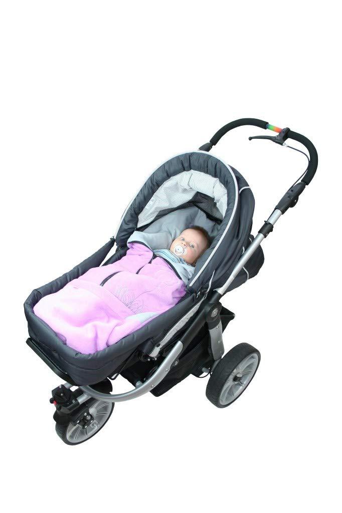 Babyboom universaler Fu/ßsack 45x88 cm geeignet f/ür Babyschale Kinderwagen//wasser- und winddicht//Baumwolle /& Minky//f/ür Herbst-Winter-Fr/ühjahr Autos dinkelgrau