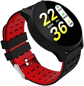 KWY Smart Watch Fitness Tracker Watches for Men Women, Fitness Watch Heart Rate Monitor IP67 Waterproof Digital Watch,Smartwatch Compatible iPhone Android Phones