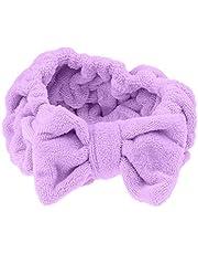 Dolity Cute Bowknot Makeup Cosmetic Headband Face Washing Mask Shower Bath Spa Hairband