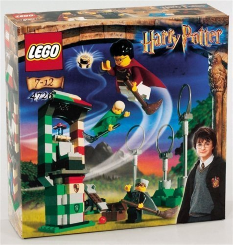 Practice of 4726 LEGO Harry Potter Quidditch (japan import)