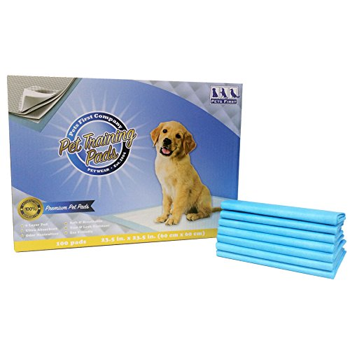 PREMIUM TRAINING PADS (100 Count) Newest Version - MOST ABSORBENT Puppy Pads. Latest Tech DOG PEE PADS