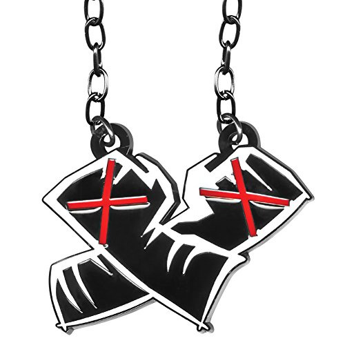 WWE CM Punk Fists Crossed Pendant by WWE