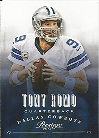 Amazon.com  2013 Prestige  51 Tony Romo NM-MT Cowboys  Collectibles ... 2219a626e