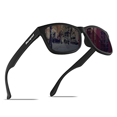 40e29ecf6c2 Image Unavailable. Image not available for. Color  Mens Polarized Sunglasses  - Momentum Memory Material Durable   Lightweight