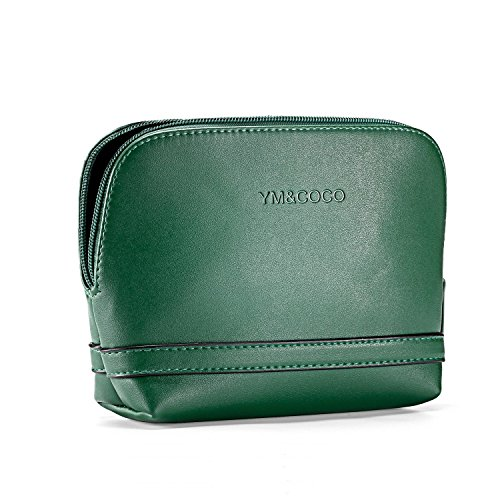 Cosmetic Bag YM&COCO Makeup Bag for Women Travel Accessories Handy Pouch Case Green(6.7