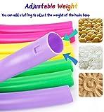 HAFUZIYN Kids Hoola Hoop, Detachable Adjustable
