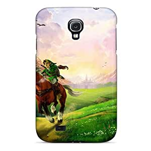 Excellent Galaxy S4 Cases Covers Back Skin Protector The Legend Of Zelda Ocarina Of Time 17654