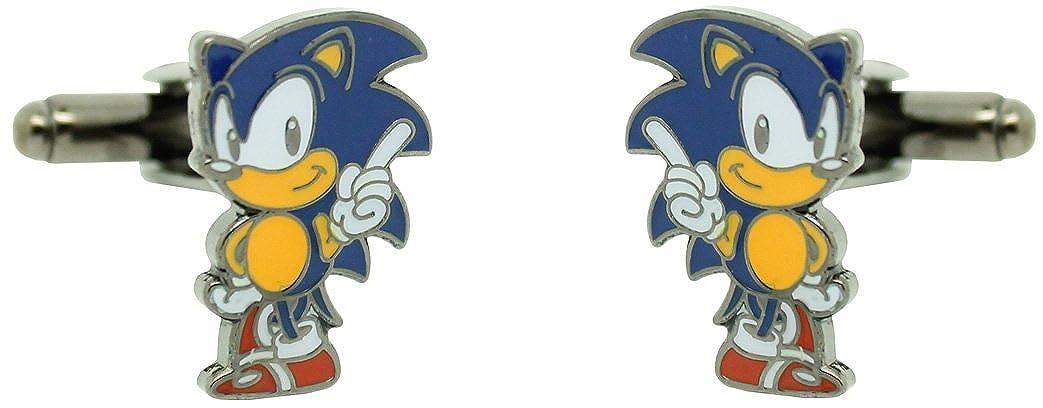 MasGemelos Gemelos Sonic Videojuego Cufflinks