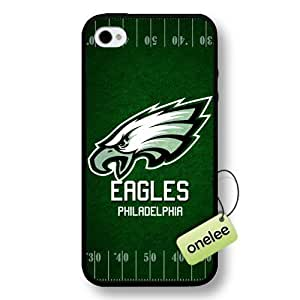 NFL Team Logo For SamSung Galaxy S6 Case Cover Black Hard Plastic Case CovBlack