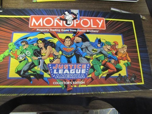 Monopoly Justice League of America Collector's Edition (Justice League Dice)