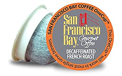San Francisco Bay Coffee OneCup 72 ct. Decaf French Roast