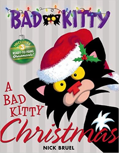 A Bad Kitty Christmas Book Cover