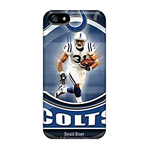 Iphone 5/5s HMa8240yGnP Allow Personal Design HD Indianapolis Colts Series Durable Hard Cell-phone Cases -AlissaDubois