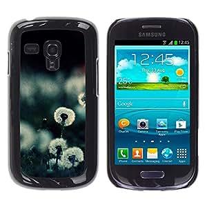 TopCaseStore / la caja del caucho duro de la cubierta de protección de la piel - Plant Nature Forrest Flower 20 - Samsung Galaxy S3 MINI NOT REGULAR! I8190 I8190N