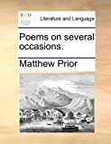 Poems on Several Occasions, Matthew Prior, 1170679951