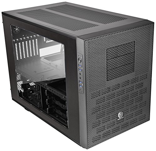 - Thermaltake Core X9 Black Edition E-ATX Stackable Tt LCS Certified Cube Computer Chassis CA-1D8-00F1WN-00