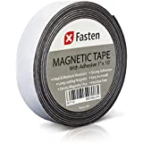 XFasten Flexible Magnetic Tape, 1-Inch x 10-Foot