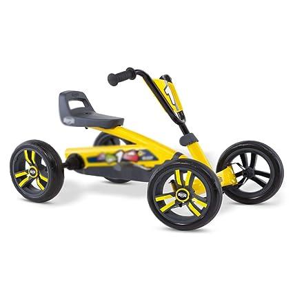 Juguetes y Juegos/Aire Libre y Deportes/Bicicl Amarillo Kart Boy Girl Bicicleta Cuatro
