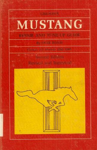 1965 mustang repair manual - 7