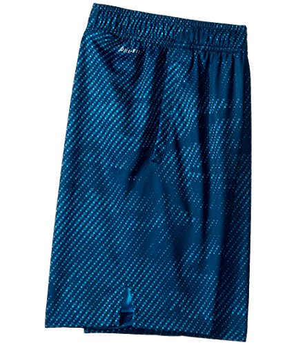 Nike Boy's Dry Printed Fly Training Shorts (Blue Force, Large) by Nike (Image #2)