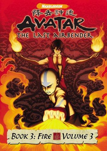 DVD : Avatar the Last Airbender - Book 3 Fire, Vol. 3