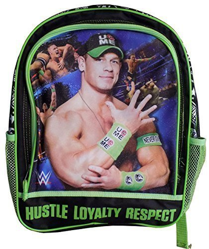 Hustle Loyalty Respect, WWE Official Licensed Backpack by WWE