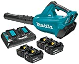 Makita XBU02PT1 Cordless Blower Kit with 4 Batteries For Sale