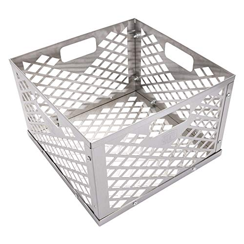 Oklahoma Joe's 5279338P04 Firebox Basket, Silver (Best Charcoal Smoker Under $500)