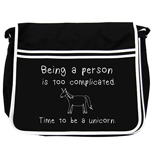 essere una persona è troppo complicato. Time to be a Unicorn bag